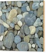 Southern Pebbles Wood Print