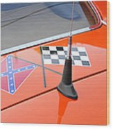 Southern Racing Flags Wood Print