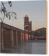 Southern Railroad Bridge Wood Print