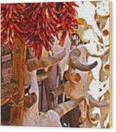 Southwest Skull Wood Print