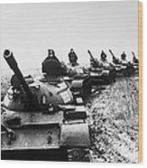 Soviet Tanks, 1978 Wood Print