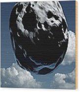 Space Exploration, Conceptual Image Wood Print by Detlev Van Ravenswaay