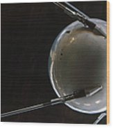 Space: Sputnik 1, 1957 Wood Print