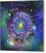 Space-time Gateway Wood Print by Richard Kail