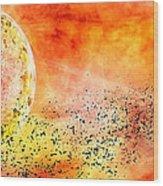 Space013 Wood Print