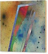 Spacescape 30 Wood Print