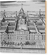 Spain: El Escorial Wood Print