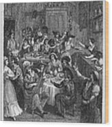 Spain: Inn, 1810 Wood Print