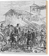 Spain: Second Carlist War Wood Print