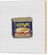 Spam In A Can Wood Print