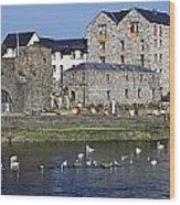 Spanish Arch, Galway City, Ireland Wood Print