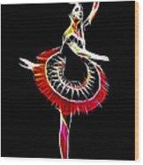 Spanish Ballerina Wood Print by Steve K