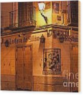 Spanish Taberna Wood Print