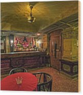Speakeasy Club -- Butte Montana Wood Print