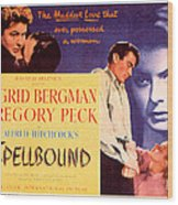 Spellbound, Ingrid Bergman, Gregory Wood Print