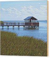 Spi Birding Center Boardwalk Wood Print