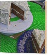Spice Cake 02 Wood Print