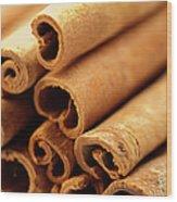 Spice, Cinnamon, Wood Print