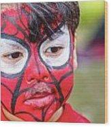 Spiderboy Wood Print