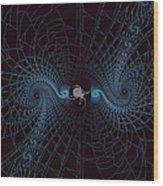Spiders Lair Wood Print