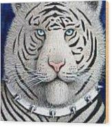 Spike The Tiger Wood Print