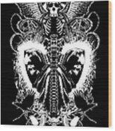 Spine Of Mine Wood Print