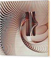 Spiral-2 Wood Print