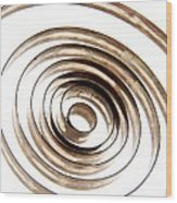 Spiral Wood Print by Bernard Jaubert
