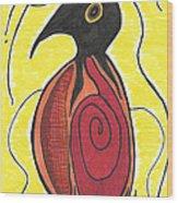 Spirit Bird Wood Print