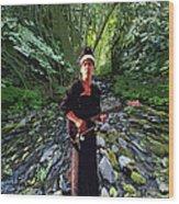 Spirit Creek Rushing 2 Wood Print