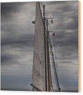 Spirit Of Massachusetts No 2 Wood Print