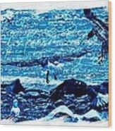 Spirit Of The Wild Blue Wood Print