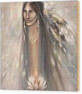 Spirit Woman Wood Print
