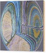 Spiritual Panes Wood Print