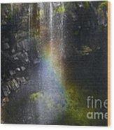 Splash Pool Wood Print
