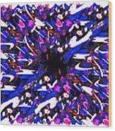 Splat 1 Wood Print