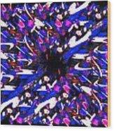 Splat 2 Wood Print
