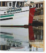 Splendour Wood Print by Bob Christopher