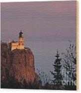 Split Rock Lightghouse - Fs000635 Wood Print