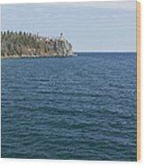 Split Rock Lighthouse 80 Wood Print