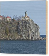 Split Rock Lighthouse 83 Wood Print