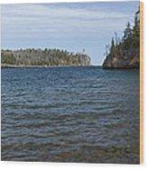 Split Rock Lighthouse 85 Wood Print