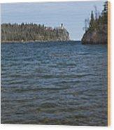 Split Rock Lighthouse 86 Wood Print