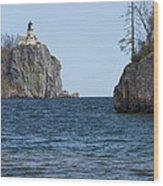Split Rock Lighthouse 87 Wood Print
