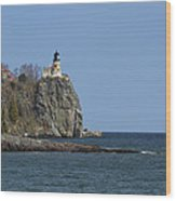 Split Rock Lighthouse 89 Wood Print