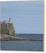 Split Rock Lighthouse 91 Wood Print
