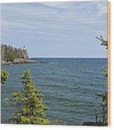 Split Rock Lighthouse 92 Wood Print