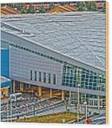 Spokane Convention Ctr From Atop Onb Wood Print