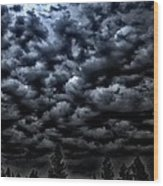 Spooks Wood Print