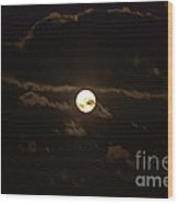 Spooky Night Wood Print
